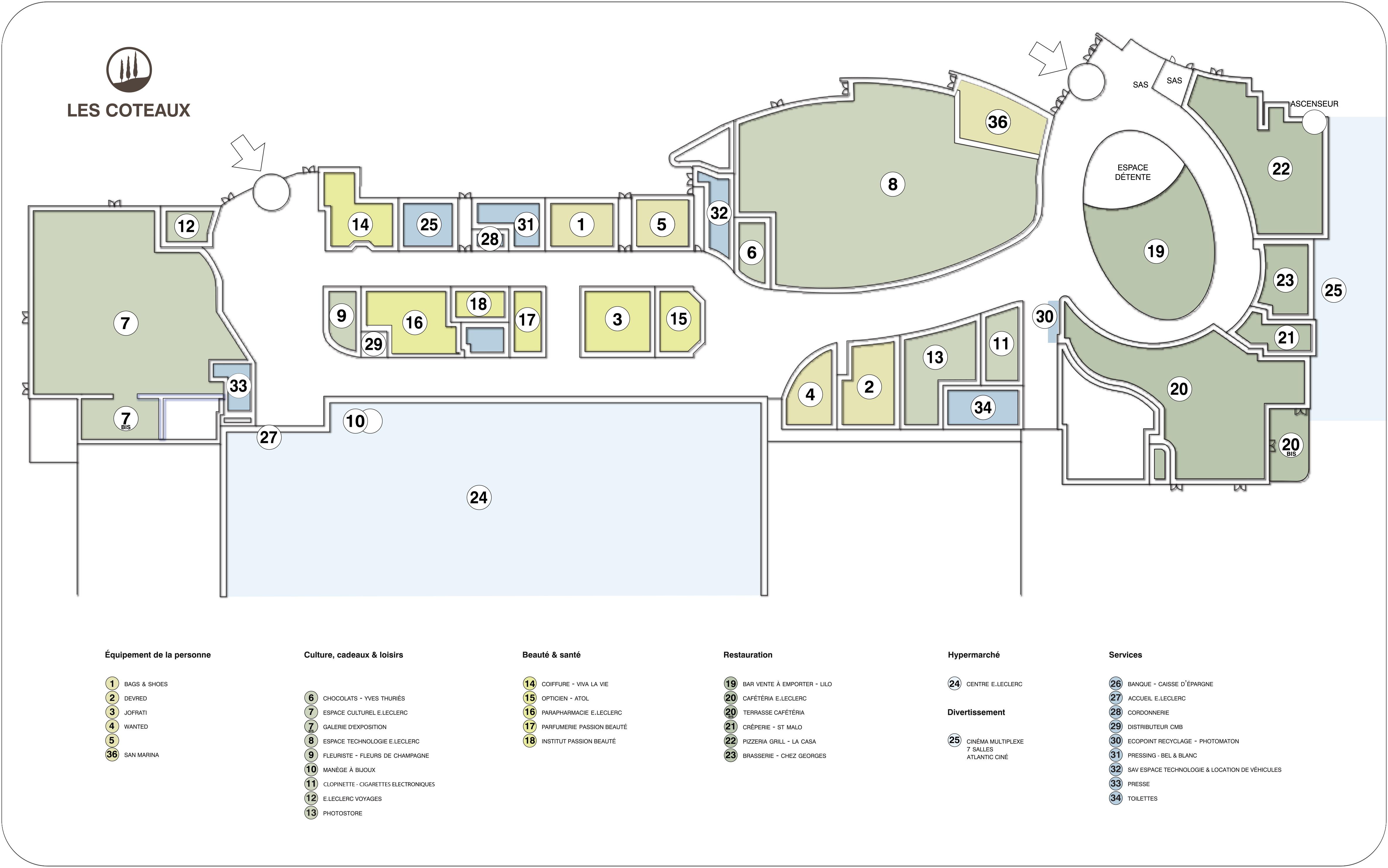 PANNEAU PLAN DIRECTORY CED