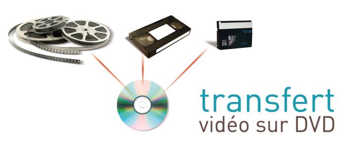 PHOTOSTORE - Transfert vidéo sur DVD