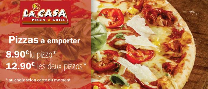 CASA PIZZA - Pizzas à emporter