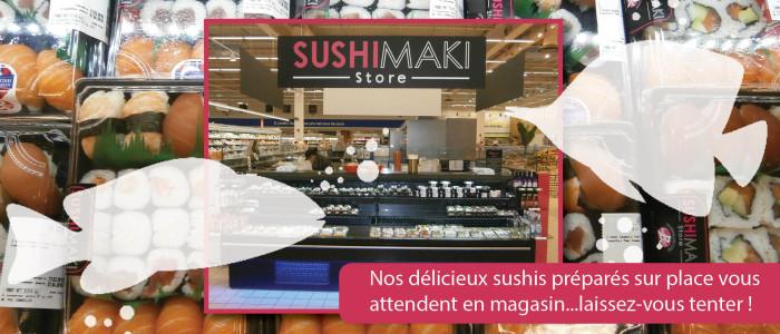Hypermarché - Bar à Sushis