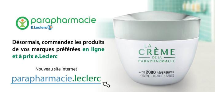 Parapharmacie - Nouveau site internet