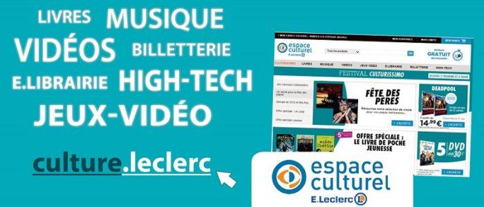 culturel.leclerc - La culture à prix e.Leclerc
