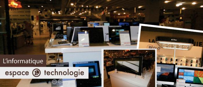 Espace Technologie - L'informatique