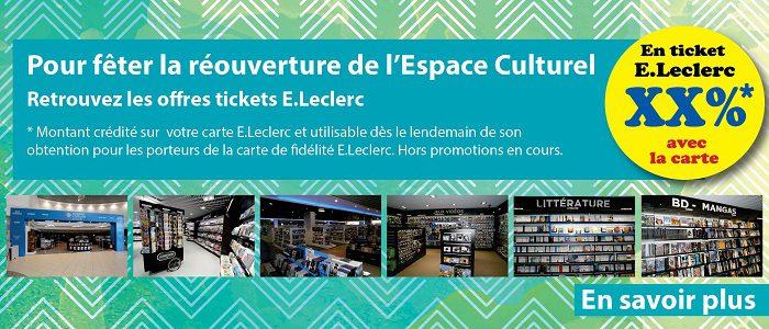 Offres Ticket E.Leclerc