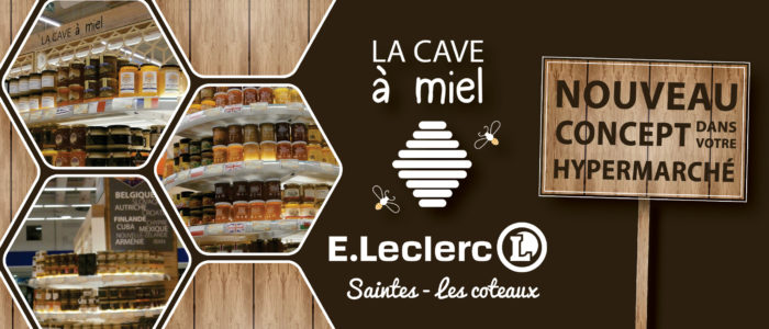 Hypermarché - La cave à miel