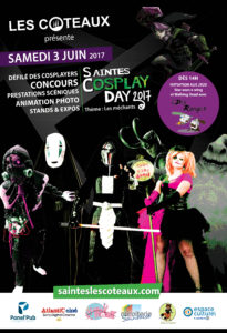 affiche saintes cosplay day
