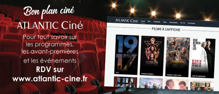 Atlantic ciné - réservation sur internet