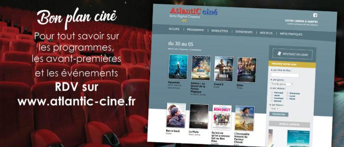 Atlantic ciné - site internet